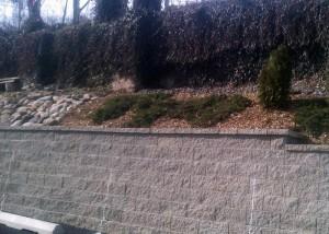 Retaining wall construction in Rockland County NY