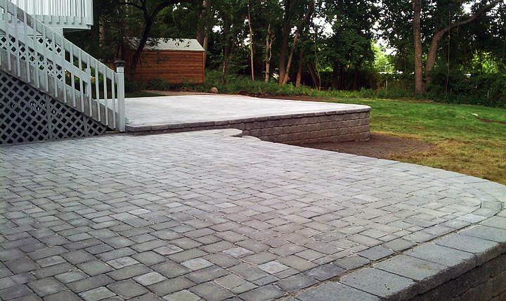 patios paving stone installation bergen county nj d d